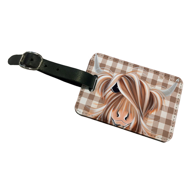 Jennifer Hogwood, The McMoos, Check Moo Out - Luggage Tag