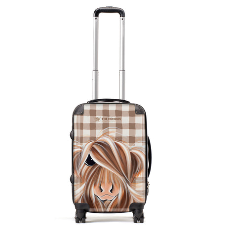 Jennifer Hogwood, The McMoos, Check Moo Out - Small Suitcase (Cabin)