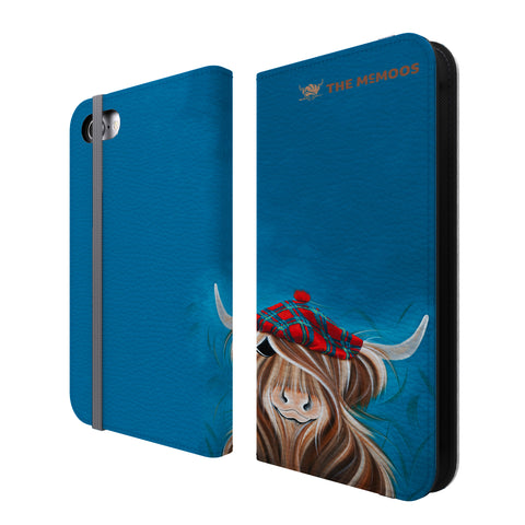 Jennifer Hogwood, The McMoos, Clyde - Folio Wallet Phone Case