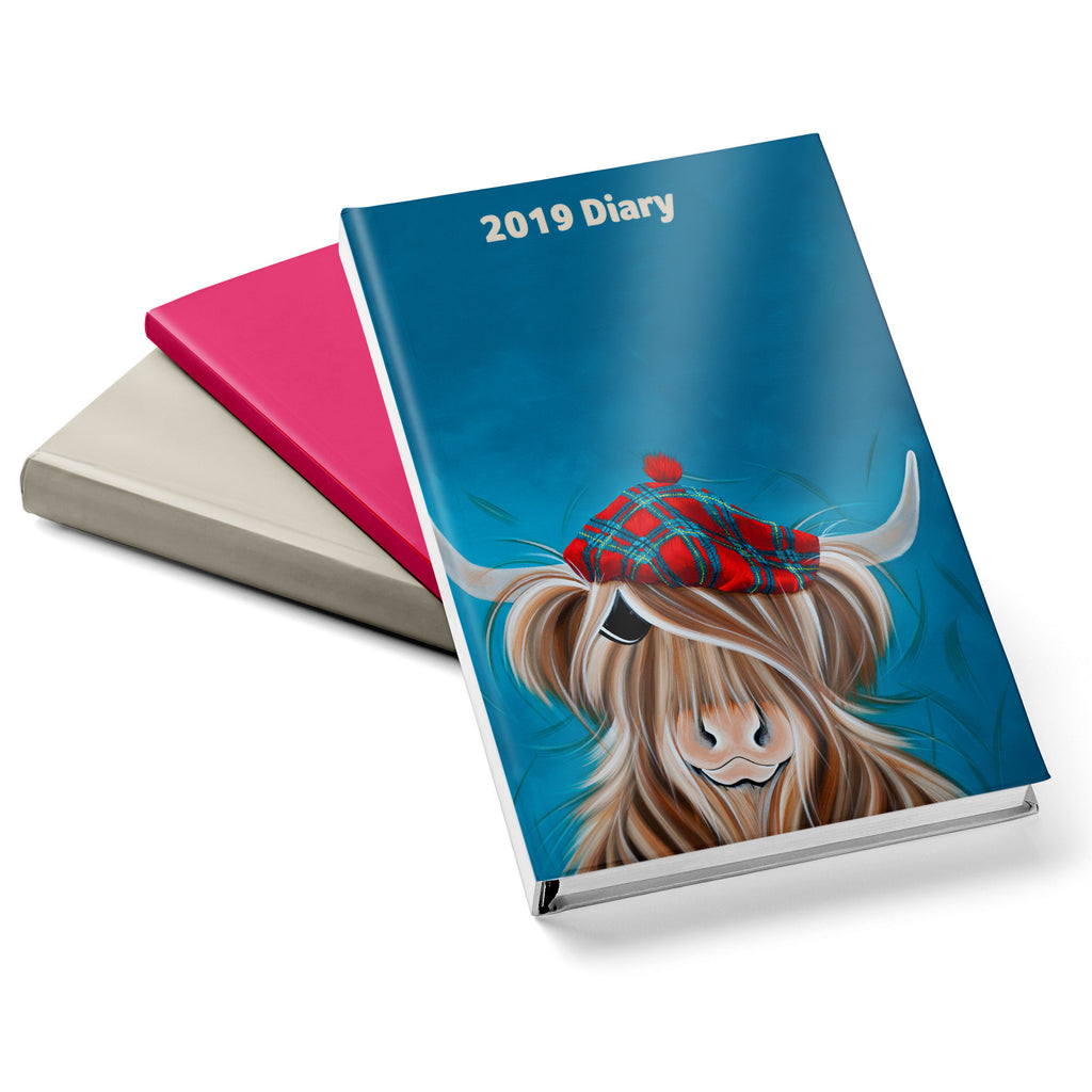 Jennifer Hogwood, The McMoos, Clyde - 2019 Diary