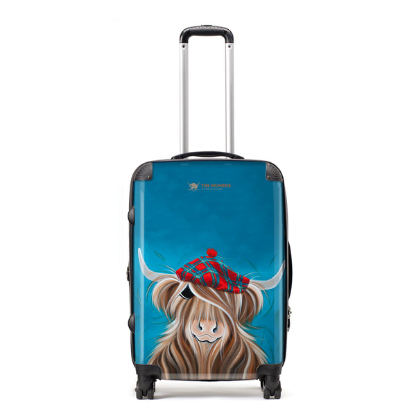 Jennifer Hogwood, The McMoos, Clyde - Medium Suitcase