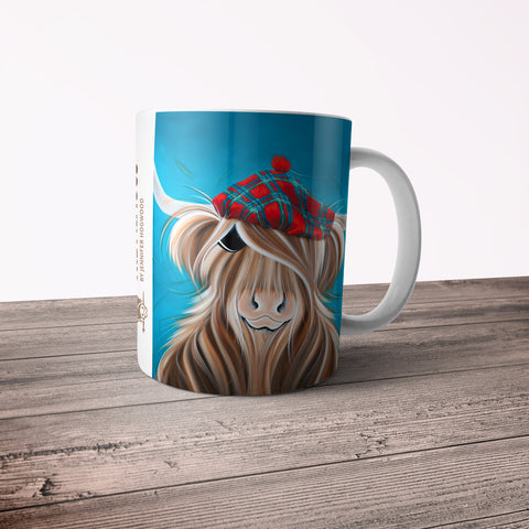 Jennifer Hogwood, The McMoos, Clyde - 11oz Ceramic Mug