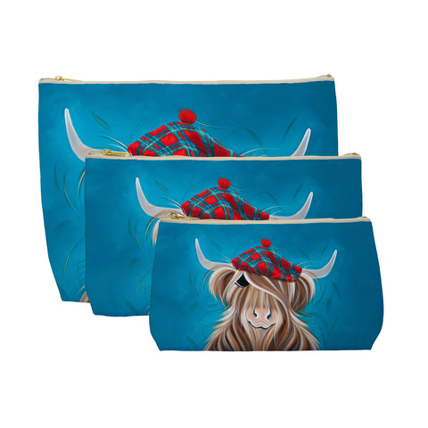 Jennifer Hogwood, The McMoos, Clyde - Makeup / Wash Bags