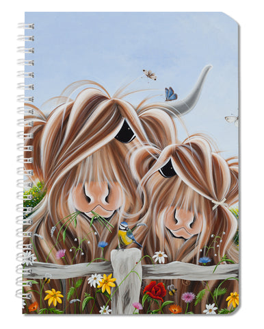 Jennifer Hogwood, The McMoos, Country Love - Notebooks