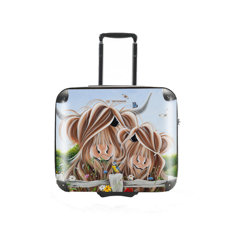 c15f8a282 Jennifer Hogwood, The McMoos, Country Love - Business Suitcase (Overnight)