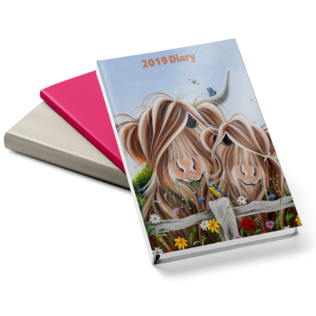 Jennifer Hogwood, The McMoos, Country Love - 2019 Diary