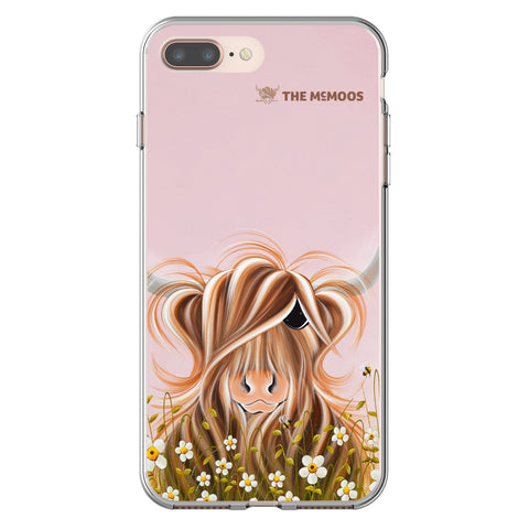 Jennifer Hogwood, The McMoos, Daisy - Flexi Phone Case