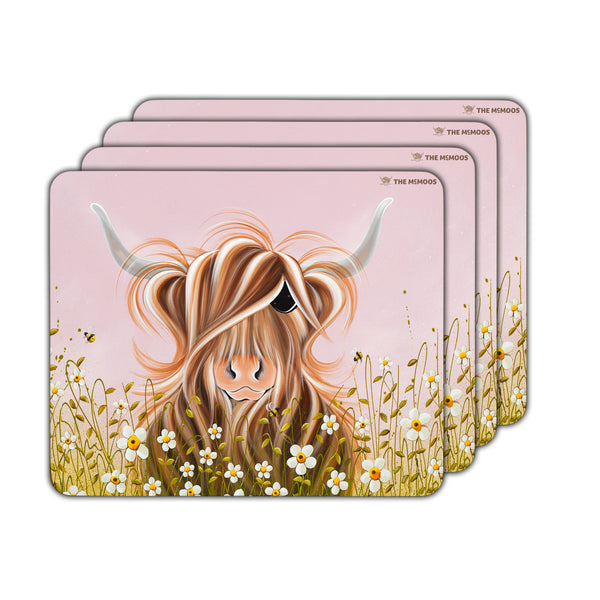 Jennifer Hogwood, The McMoos, Daisy - Placemats
