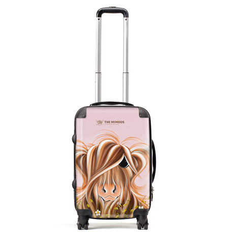 Jennifer Hogwood, The McMoos, Daisy - Small Suitcase (Cabin)