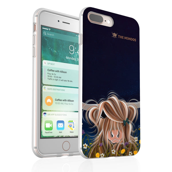 Jennifer Hogwood, The McMoos, Evening Highland - Flexi Phone Case
