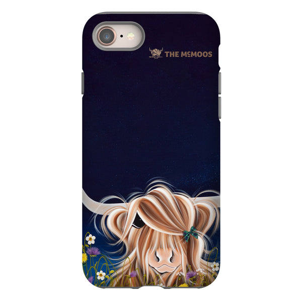 Jennifer Hogwood, The McMoos, Evening Highland - Tough Phone Case