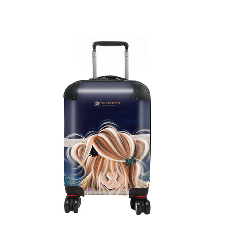 Jennifer Hogwood, The McMoos, Evening Highland - Kids Suitcase