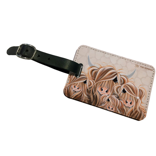 Jennifer Hogwood, The McMoos, Fa-Moo-Ly Forever - Luggage Tag