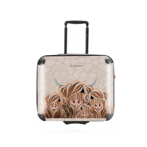 Jennifer Hogwood, The McMoos, Fa-Moo-Ly Forever - Business Suitcase (Overnight)
