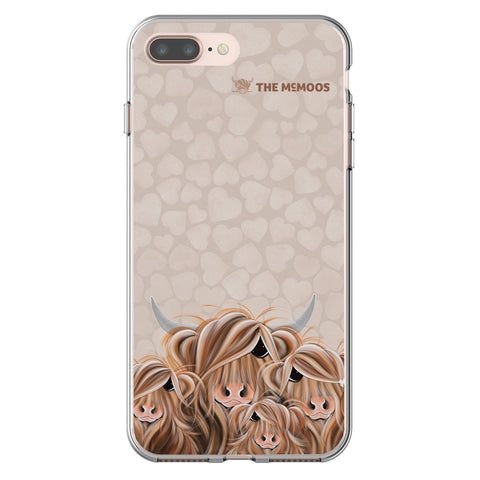 Jennifer Hogwood, The McMoos, Fa-Moo-Ly Forever - Flexi Phone Case