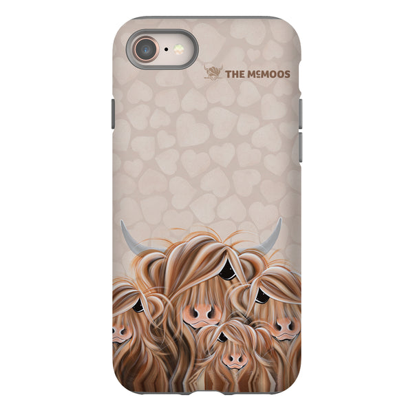 Jennifer Hogwood, The McMoos, Fa-Moo-Ly Forever - Tough Phone Case