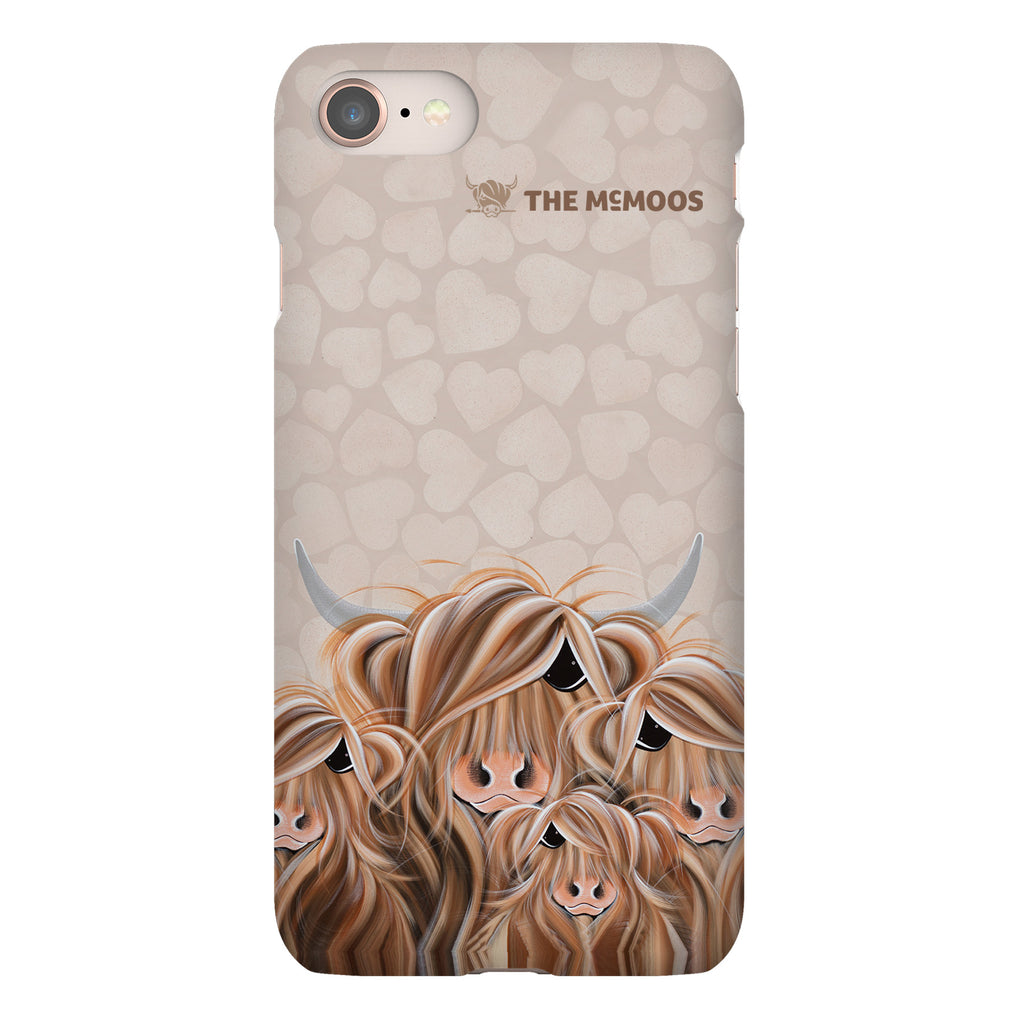 Jennifer Hogwood, The McMoos, Fa-Moo-Ly Forever - Snap Phone Case