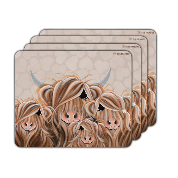 Jennifer Hogwood, The McMoos, Fa-Moo-Ly Forever - Placemats