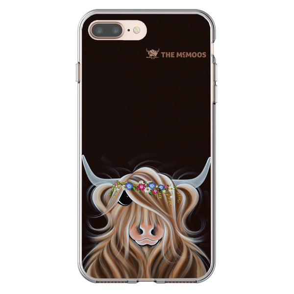 Jennifer Hogwood, The McMoos, Flora - Flexi Phone Case