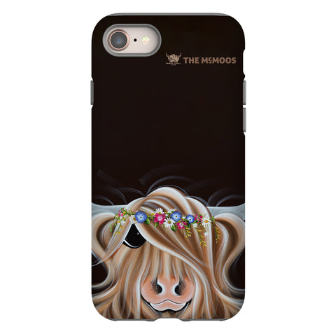 Jennifer Hogwood, The McMoos, Flora - Tough Phone Case