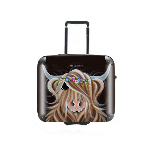 Jennifer Hogwood, The McMoos, Flora - Business Suitcase (Overnight)