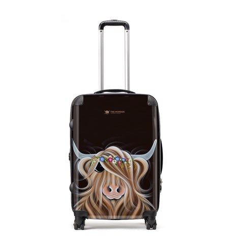 Jennifer Hogwood, The McMoos, Flora - Large Suitcase