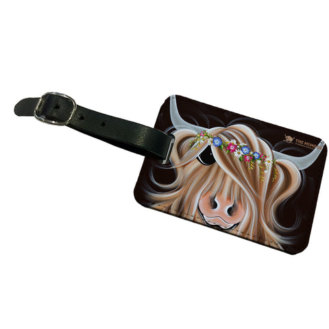 Jennifer Hogwood, The McMoos, Flora - Luggage Tag