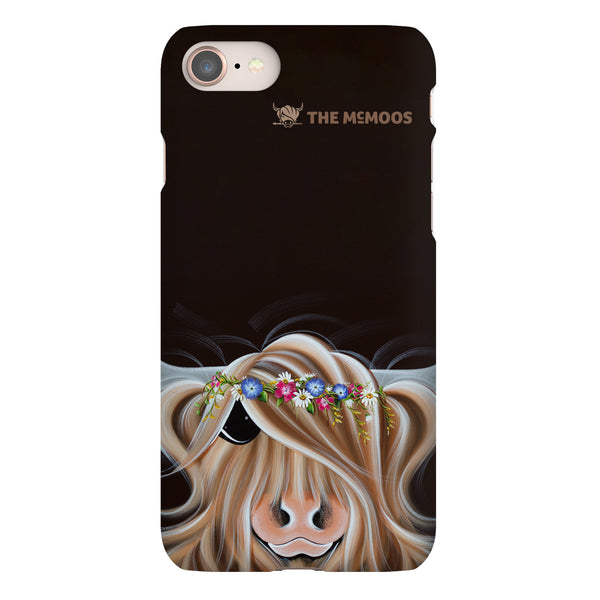 Jennifer Hogwood, The McMoos, Flora - Snap Phone Case