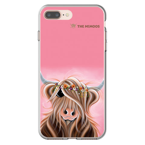 Jennifer Hogwood, The McMoos, Flower Girl - Flexi Phone Case