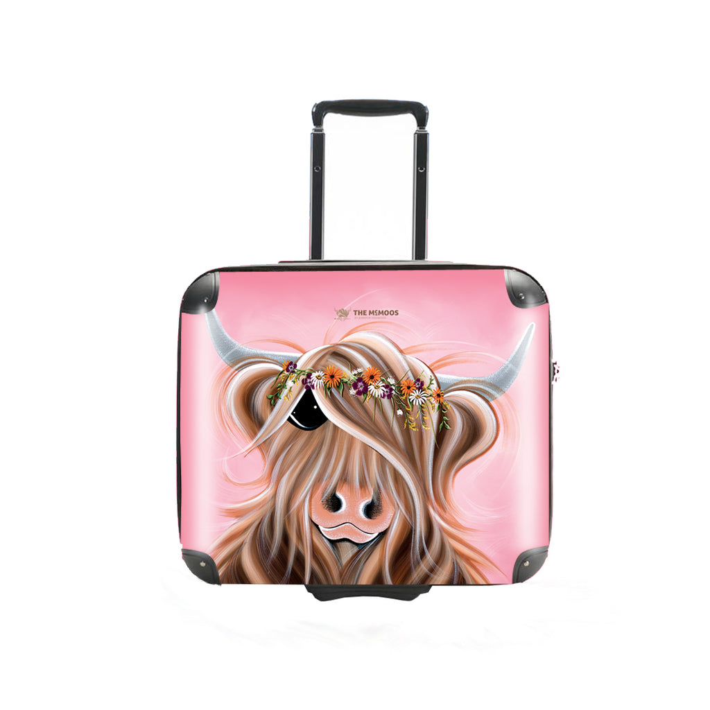 Jennifer Hogwood, The McMoos, Flower Girl - Business Suitcase (Overnight)