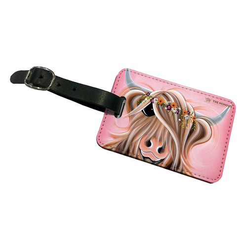 Jennifer Hogwood, The McMoos, Flower Girl - Luggage Tag