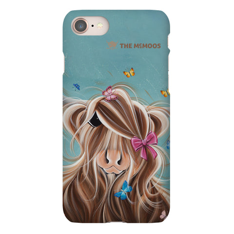 Jennifer Hogwood, The McMoos, Fluttering Around Moo - Snap Phone Case