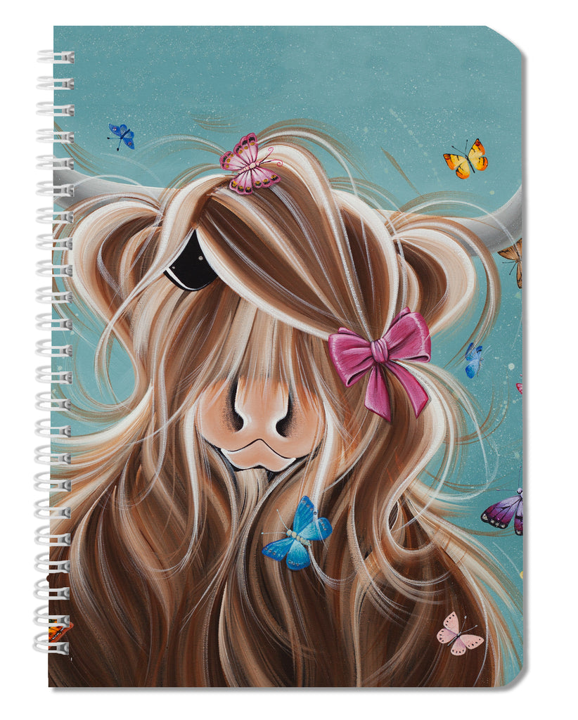 Jennifer Hogwood, The McMoos, Fluttering Around Moo - Notebooks
