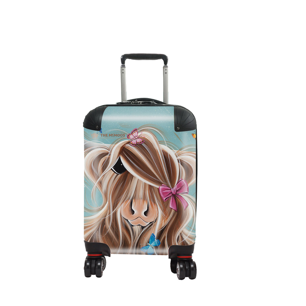 Jennifer Hogwood, The McMoos, Fluttering Around Moo - Kids Suitcase