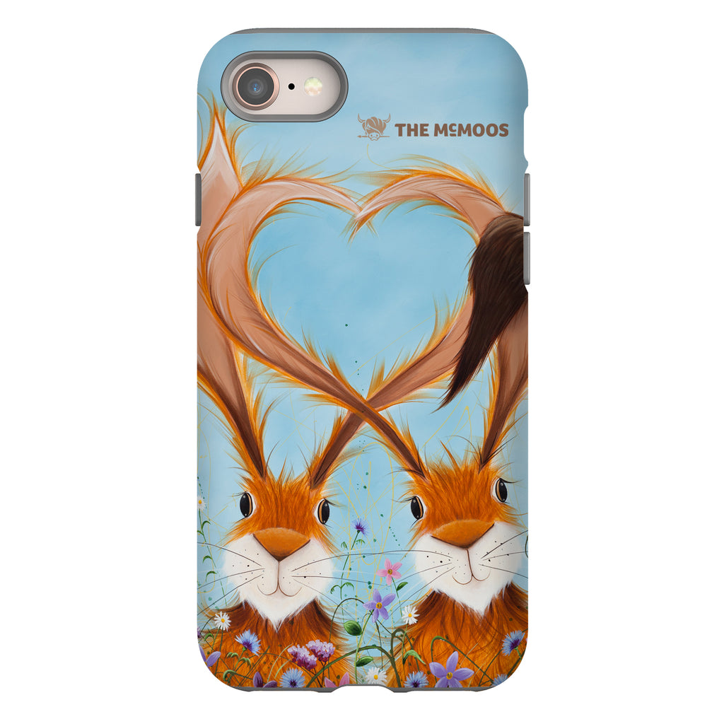 Jennifer Hogwood, The McMoos, Hares In Love - Tough Phone Case