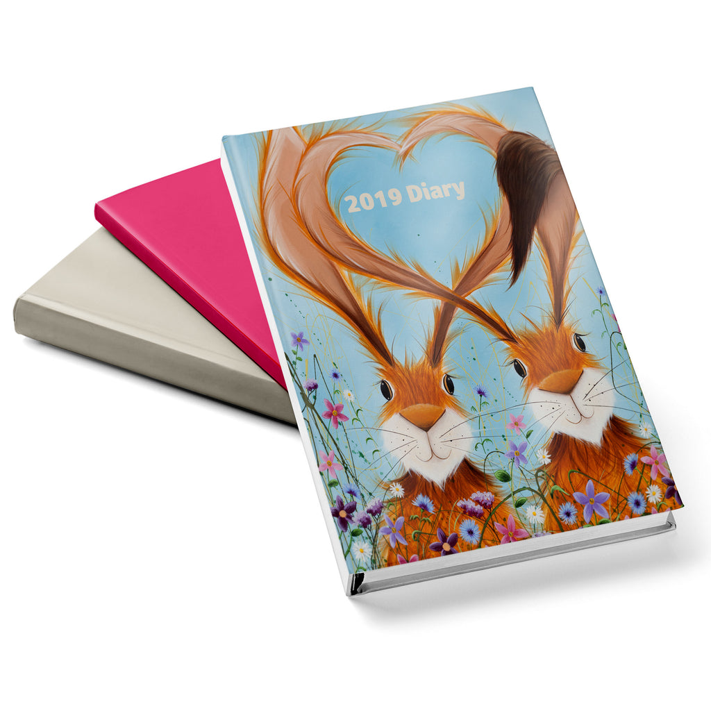 Jennifer Hogwood, The McMoos, Hares In Love - 2019 Diary