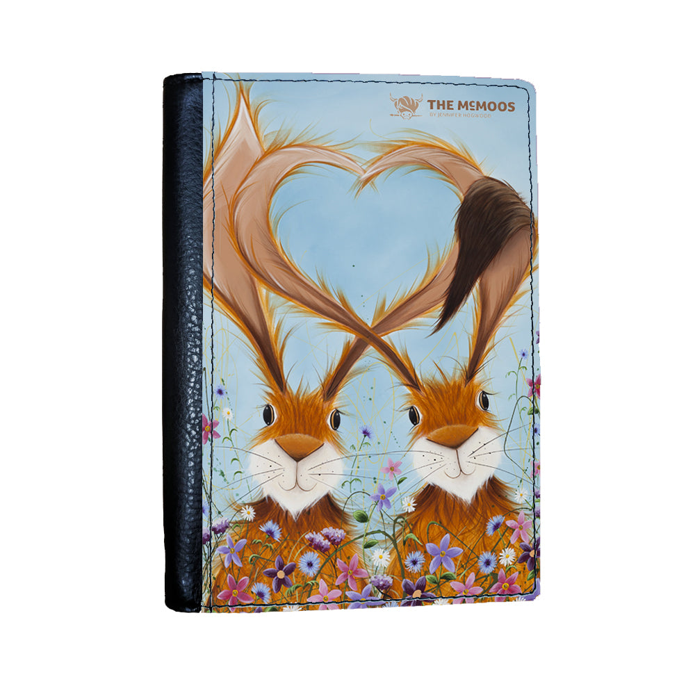 Jennifer Hogwood, The McMoos, Hares In Love - Passport Cover