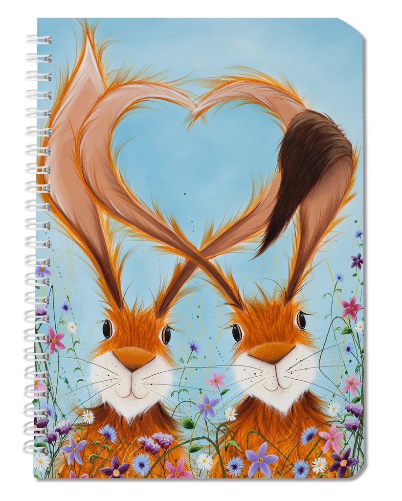 Jennifer Hogwood, The McMoos, Hares in Love - Notebooks