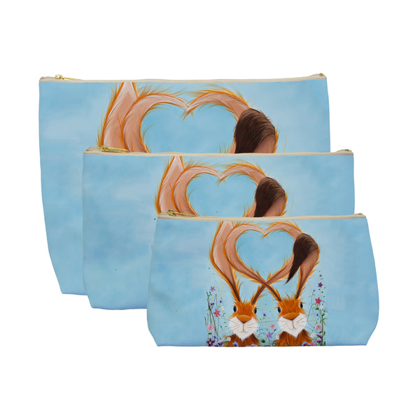 Jennifer Hogwood, The McMoos, Hares In Love - Makeup / Wash Bags