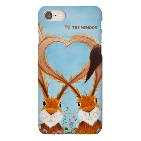 Jennifer Hogwood, The McMoos, Hares In Love - Snap Phone Case