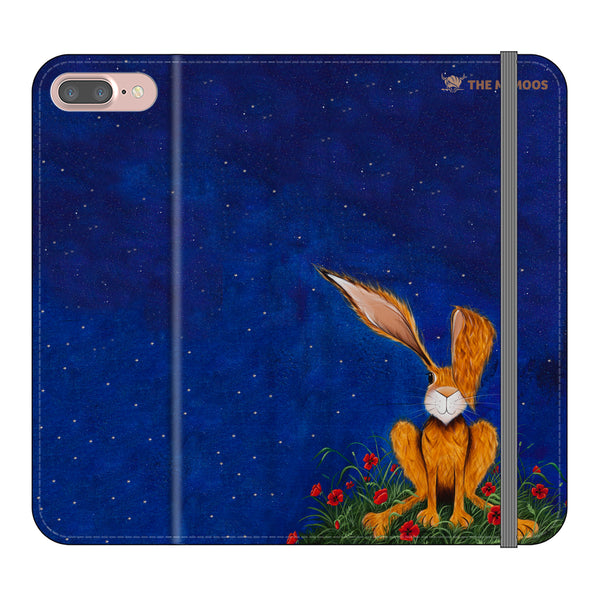 Jennifer Hogwood, The McMoos, Harry Under The Stars- Folio Wallet Phone Case