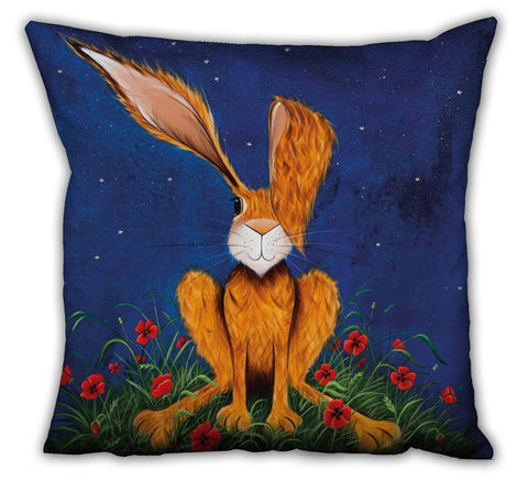 Jennifer Hogwood, The McMoos, Harry Under The Stars - Suede Cushions