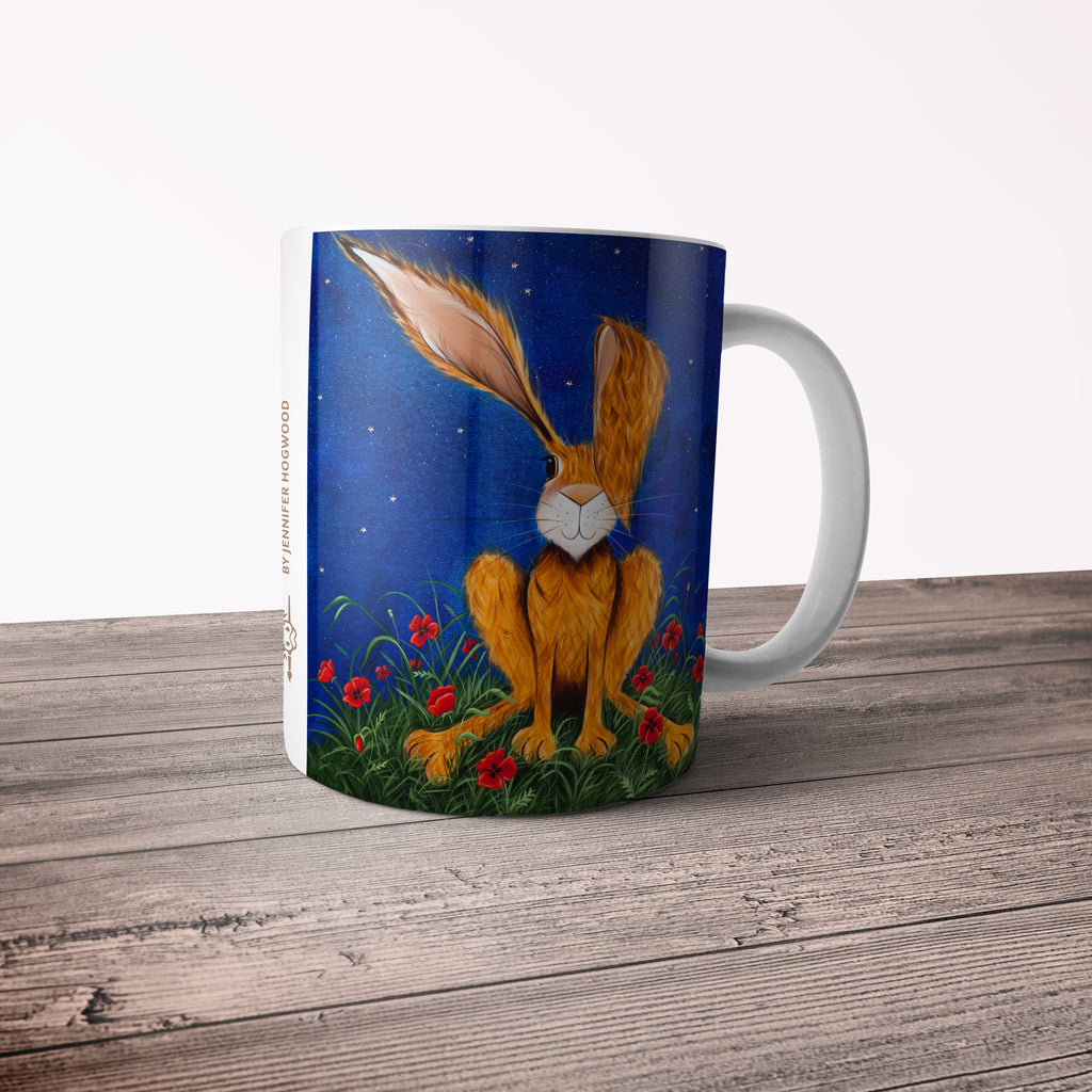 Jennifer Hogwood, The McMoos, Harry Under The Stars - 11oz Ceramic Mug