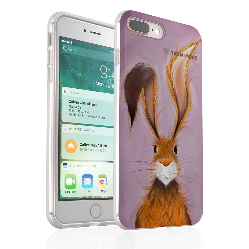 Jennifer Hogwood, The McMoos, Hatty Hare - Flexi Phone Case