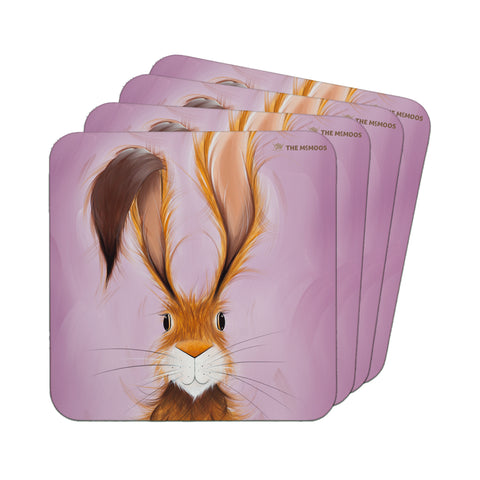 Jennifer Hogwood, The McMoos, Hatty Hare - Coasters