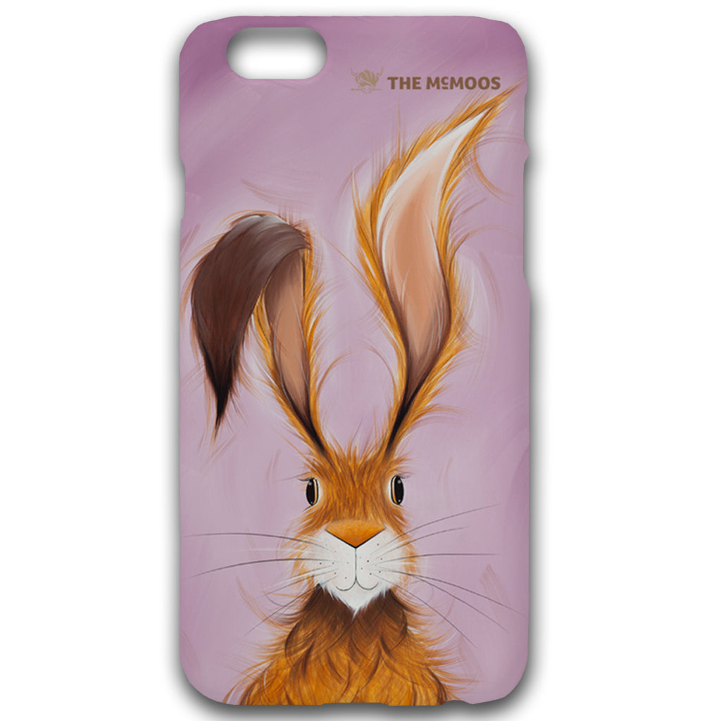 Jennifer Hogwood, The McMoos, Hatty Hare - Hardback Phone Cases