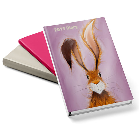 Jennifer Hogwood, The McMoos, Hatty Hare - 2019 Diary