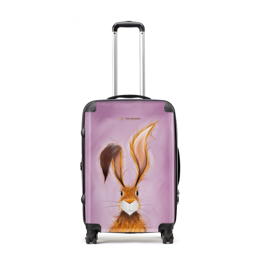 Jennifer Hogwood, The McMoos, Hatty Hare - Large Suitcase