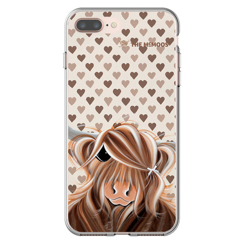 Jennifer Hogwood, The McMoos, I Love Moo - Flexi Phone Case