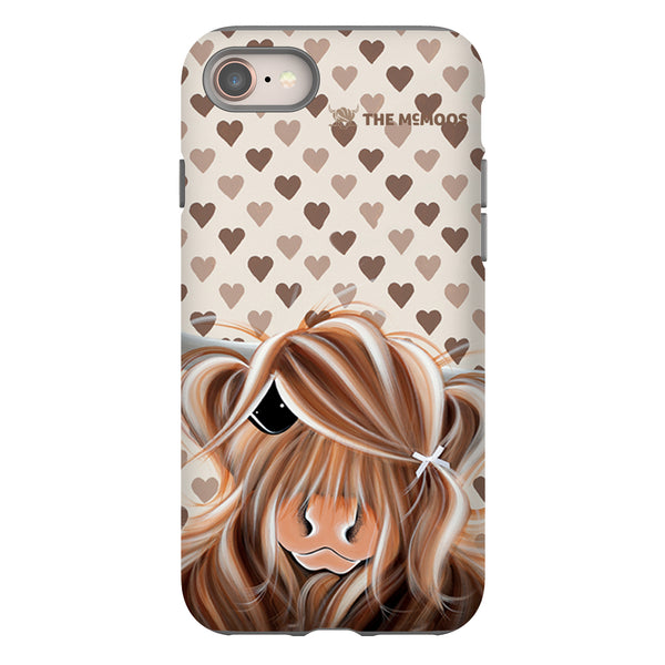 Jennifer Hogwood, The McMoos, I Love Moo - Tough Phone Case